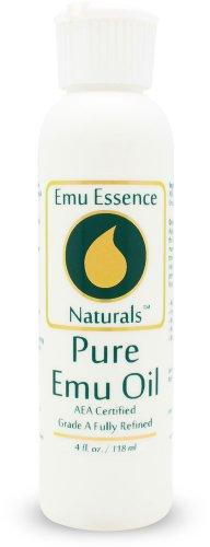 Emu Essence Pure Emu Oil 4 Oz AEA Certified