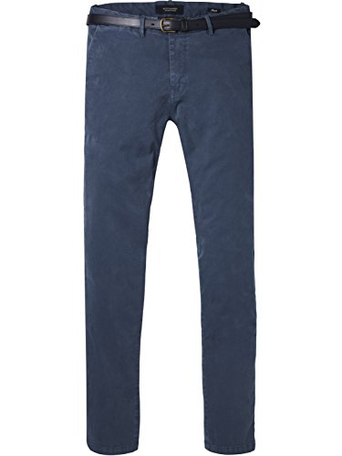 Homme Scotch Bleu Classic Garment Pant steel In Dyed Quality Soda Pantalon Chino 0562 amp; Stretch Cotton r7qgxrnC
