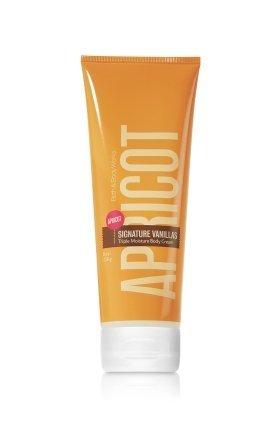 - Bath & Body Works Apricot Signature Vanillas Triple Moisture Body Cream 8 oz (226g)