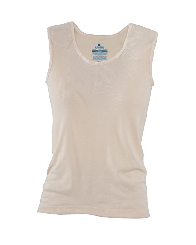 Hydropur Thermal - Indera Hydropur Performance Thermal Camisole Tank Top (Medium (35-37), Beige)