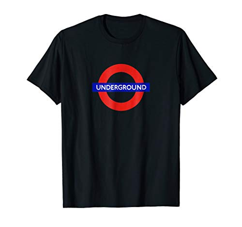London Underground The Tube Metro Train UK T-Shirt