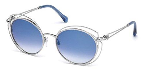 Lunettes de soleil Roberto Cavalli Cascina RC1030 C55 16X (shiny palladium / blu mirror)