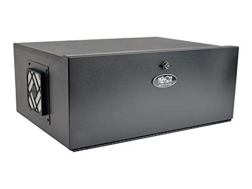 Vertical Lacing Bar - Tripp Lite 5U Security DVR Lockbox Rack Enclosure 60lb Capacity, Black (SRDVRLB)