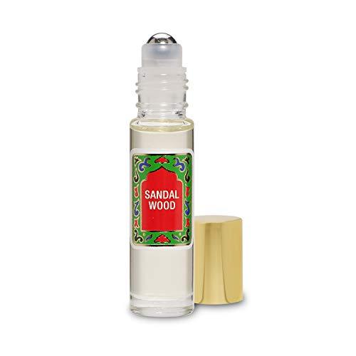 Sandal Wood Perfume Oil - SandalWood Oil by Nemat Fragrances (10ml/0.33 Fl Oz)