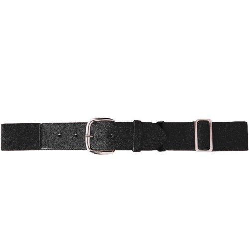 Joe's USA Baseball/Softball Uniform Belts - All Colors and Sizes (Adult, Black)