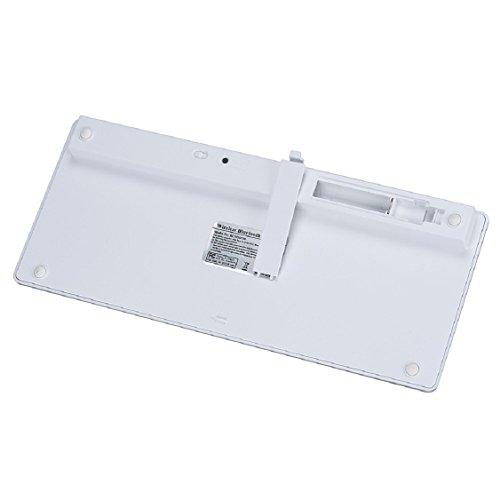 Egmy Hot! 2016 Slim Mini Bluetooth Wireless Keyboard for iPad Pro 9.7 /12.9 inch White by Egmy (Image #3)