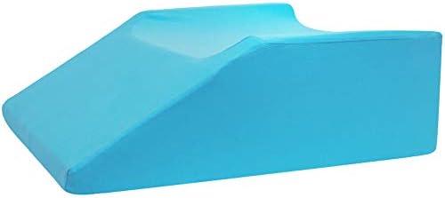 JFJL Fahrwerkbein Ruhekeil Kissen - Orthopädisches Memory Foam-Bettkissen für Bein- und Rückenschmerzen - Verbesserte Durchblutung - Hervorragend geeignet nach Operationen oder Verletzungen