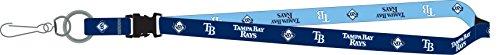 Tampa Bay Rays PSG 2-Tone Premium Lanyard 2-sided Breakaway Keychain Baseball