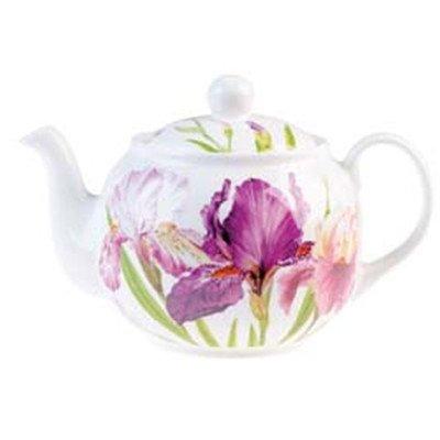 Roy Kirkham Teapot, Iris