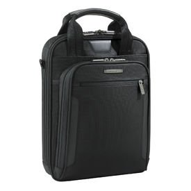 Briggs & Riley @ Work Luggage Slim Vertical Brief, Black, One Size