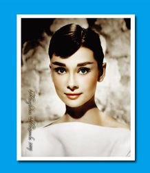 Image Unavailable. Image not available for. Colour  The stickers Audrey  Hepburn ... efe9548cfc51