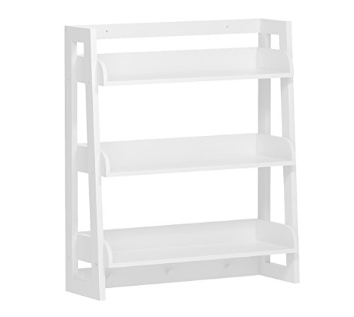 UTEX 3 Tier Bathroom Shelf Wall Mounted with Towel Hooks, Bathroom Organizer Shelf Over The Toilet (White)