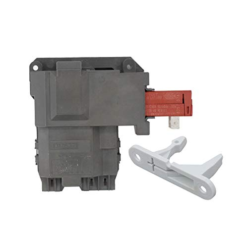 (ApplianPar 131763202 Washer Door Lock Switch Assembly with 131763310 Striker for Frigidaire Electrolux Washing Machine 131763256,0131763202 131269400 131763200 AP4455026)