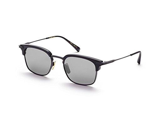 Dita NOMAD DRX 2080 C-T-BLK Matte Black-w/ Dark Grey-Black Flash-AR Sunglasses (Dita Sunglasses)