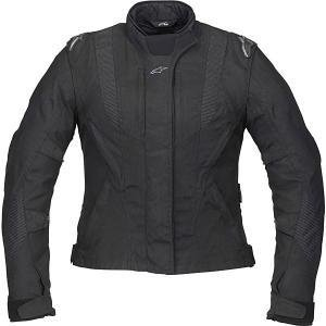 Alpinestars 321759-10-XL Stella P1 Sport Touring Drystar Textile Womens Jacket, Gender: Womens, Size: XL, Apparel Material: Leather, Primary Color: Black