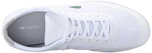 Lacoste Mens Tramline 116 1 Spm Fashion Sneaker Wit