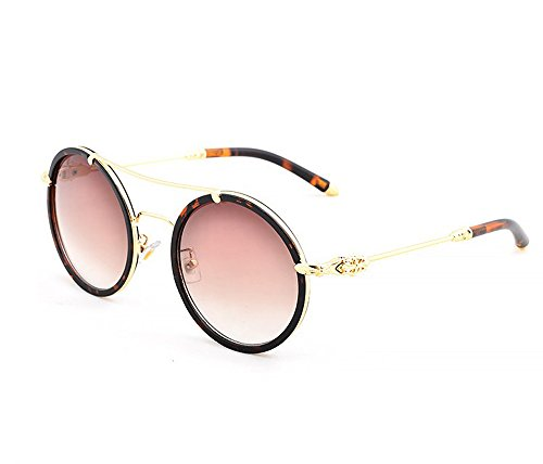 Chrome Hearts sunglasses retro Ms. round metal frame sunglasses (Cartier Oval Glasses)