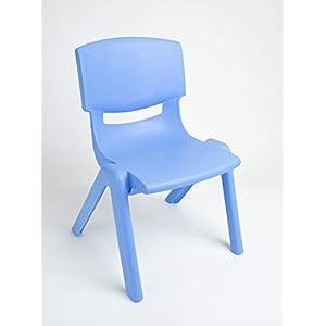 Bieco Chaise Bleu 53 x 33 x 28 cm