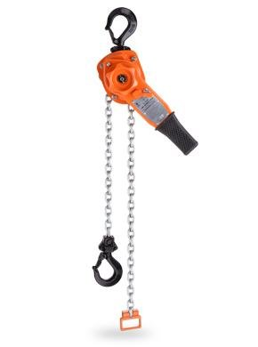 """CM 5331 Steel Lever Operated Hoist, 16-1/4"""" Lever, 12000 lbs Capacity, 10' Lift Height"""