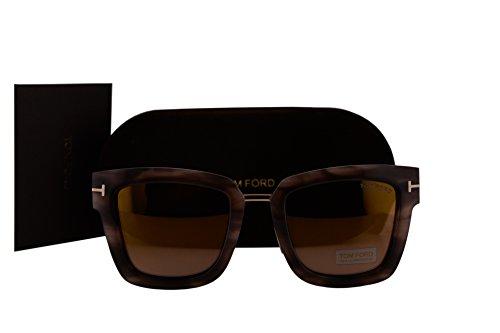 c551612f50 Sunglasses Tom Ford FT0573 Lara-02 Sunglasses Havana w Brown Mirror ...