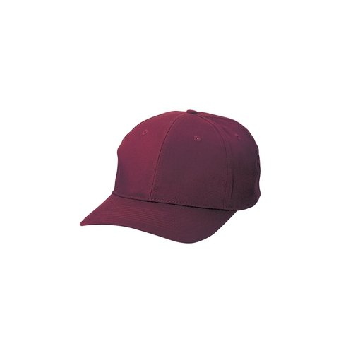(Port & Company Youth 6-Panel Twill Cap>One size Maroon)