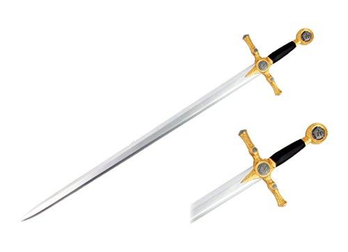 Easy Larp Costumes (Hero's Edge G-BL009 Foam Masonic Sword, 45