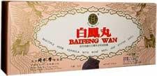 Bai Feng Wan Herbal Supplément (10 conteneurs, 50 comprimés chacun - 50g total) - 6 boîtes