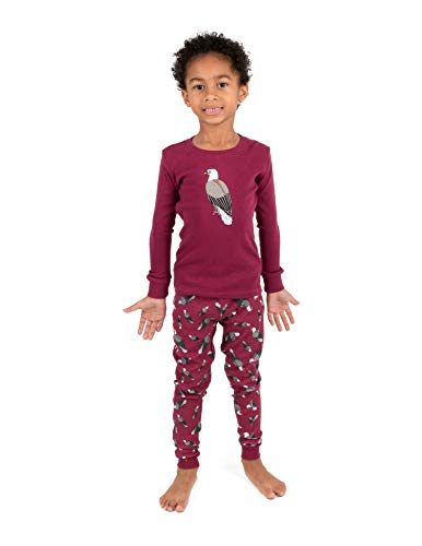 7cff38e3cc Leveret Kids Pajamas Boys Girls 2 Piece pjs Set Animal Prints 100% Cotton ( Size