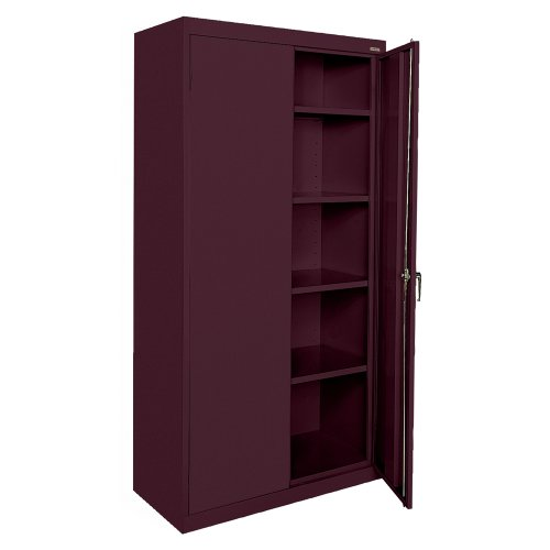 Buddy Products Cabinet, Welded Storage Cabinet, Burgundy (CA41361872-03BP) ()