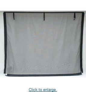 Fresh Air Screens Garage Door Screen 9 ft x 7 ft by Fresh Air Screens