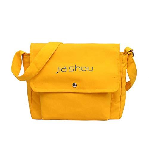 Portatil Mensajero Shopper Bag Impermeable Carteras Bandolera Amarillo Popular Mochilas Hombro Tote Bolsa Tirantes Mujer Bolso Mano Compras Calidad Barato Callejero Alta Moda Quicklyly gSqX0