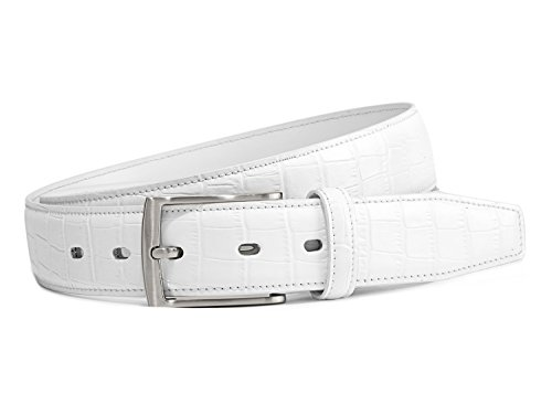 Men's Golf Belts Genuine Leather Dress Belt 1 3/8