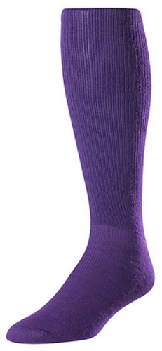 Twin City Acrylic Baseball Tube Sock, Purple, Small ()
