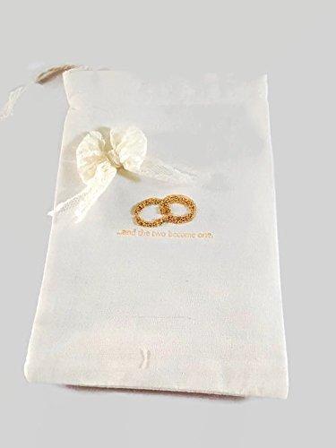 Amazon.com: Wedding Reception Favor Bags - Set of 10 - Handmade ...