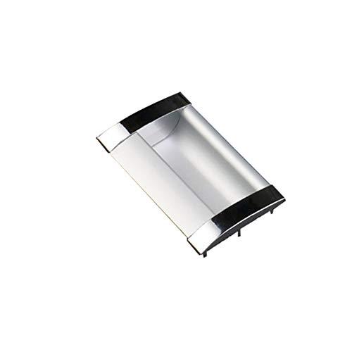 8PCS Concealed Drawer Door Finger Insert Recessed Flush Pull Handle 2-1/2