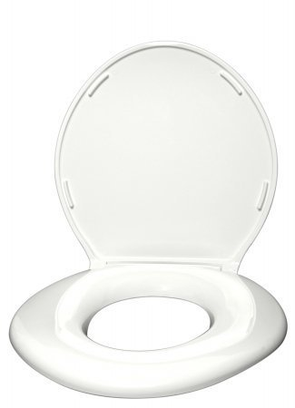 Big John 6 W Oversized Toilet Seat With Cover For Round