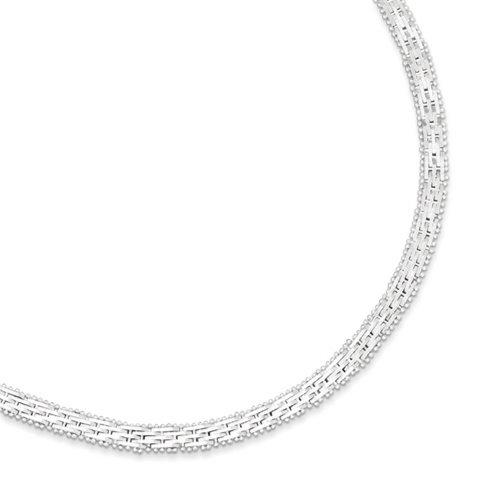 Icecarats Créatrice De Bijoux En Argent Sterling Bracelet Fantaisie Dans 7,5 Pouces