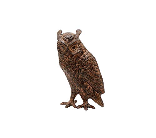Аchlа Premium Designs Great Horned Owl Garden Statue ()
