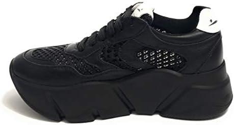 Voile Blanche , Baskets Pour Femme Noir
