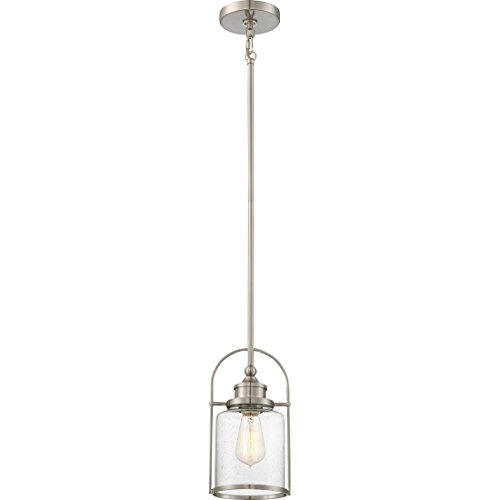 Quoizel One Light Mini Pendant QPP2781BN, Small, Brushed Nickel - Quoizel Piccolo Pendant
