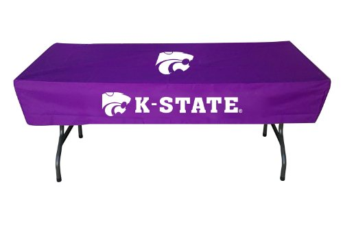 (Rivalry Kansas State 6 Foot Sports Team Logo Table Cover)