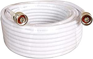 RG6 Coaxial Cable 75 ohm 8 Meters N- Male to N- Male