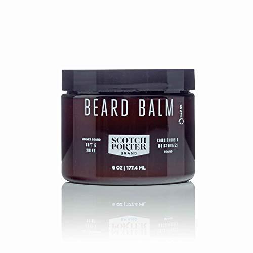 Scotch Porter - All Natural Men's Beard Balm, 6 oz