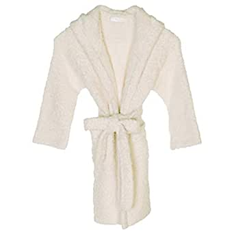Barefoot Dreams Polyester Cozychic Kids Cover Up - Cream