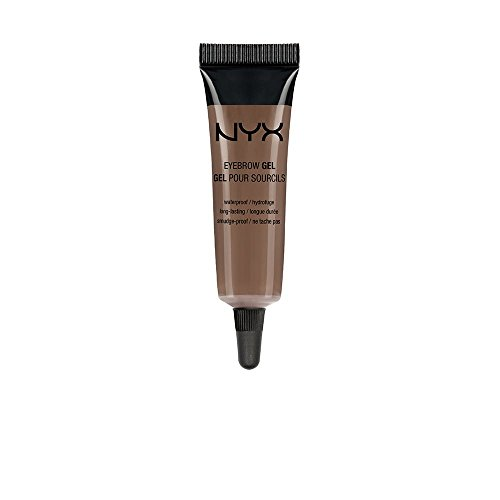 NYX PROFESSIONAL MAKEUP Eyebrow Gel, Chocolate, 0.34 Ounce