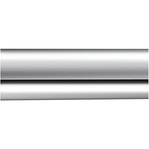 Moen 2-100-5SS Donner Commercial Shower Rod, Stainless (Curtain Rod Steel Stainless Shower)