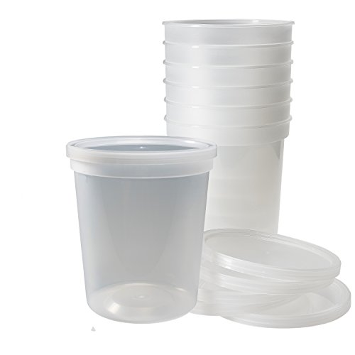 32 oz freezer containers - 8
