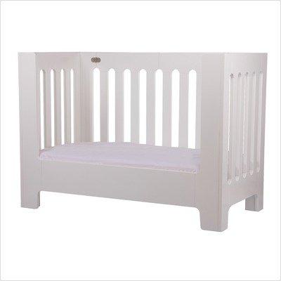 Alma Papa Bed Rail in Coconut White