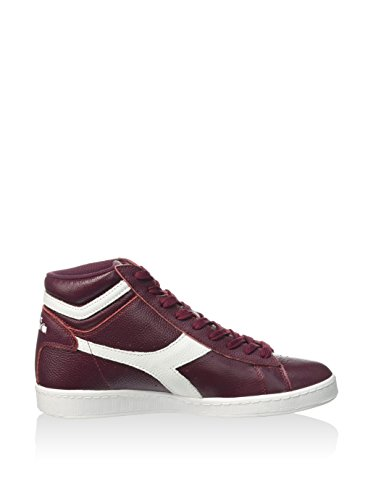 Diadora Unisex Adults' Game L High Waxed Tennis Shoe, Black, 42.0 EUR Granato
