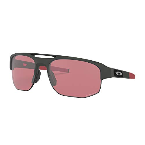 Oakley Golf Sunglasses - Oakley Men's Mercenary Rectangular Sunglasses, Matte Carbon, 70 mm